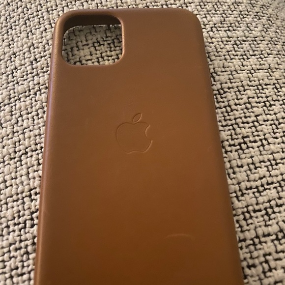 Apple Leather Case (for iPhone 11 Pro)